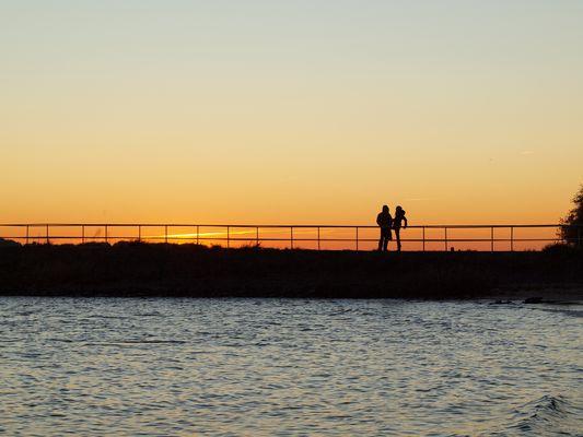 Wo die Sonne untergeht, geht oft die Liebe auf