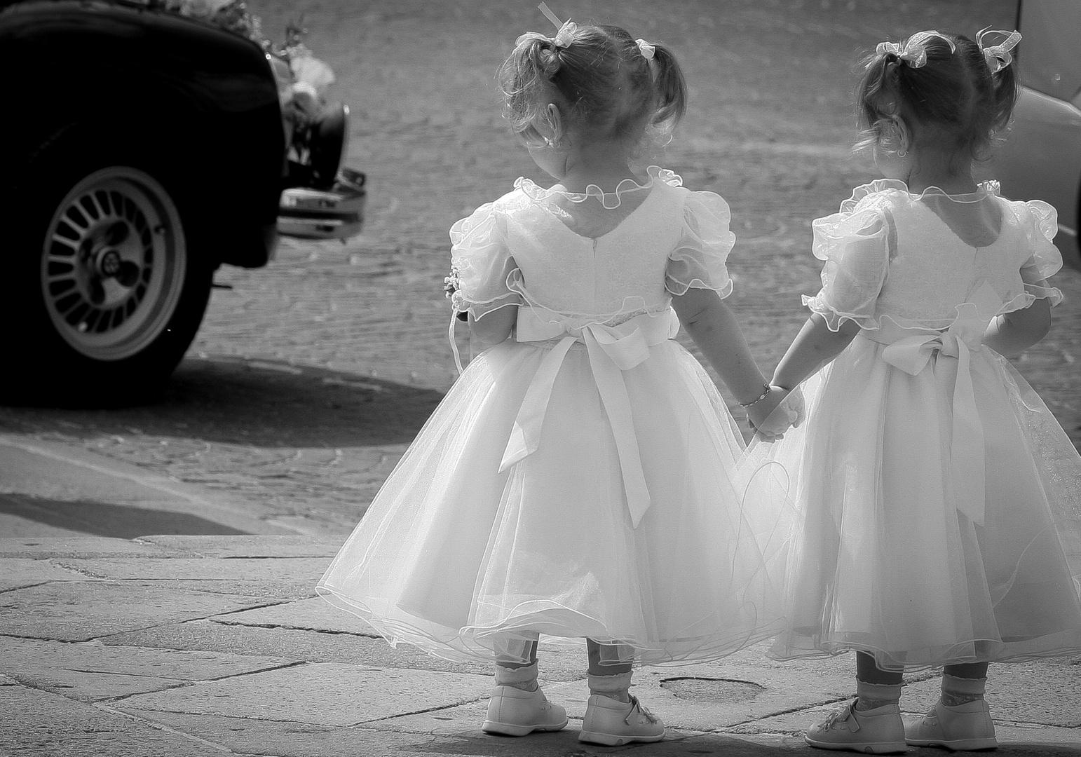 Wo ist die Braut ?? Hochzeit in Italien