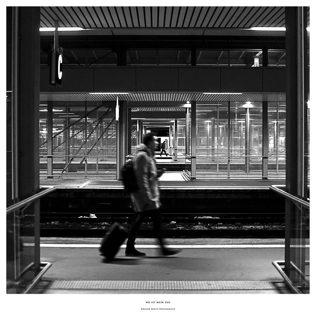 wo ist mein Zug