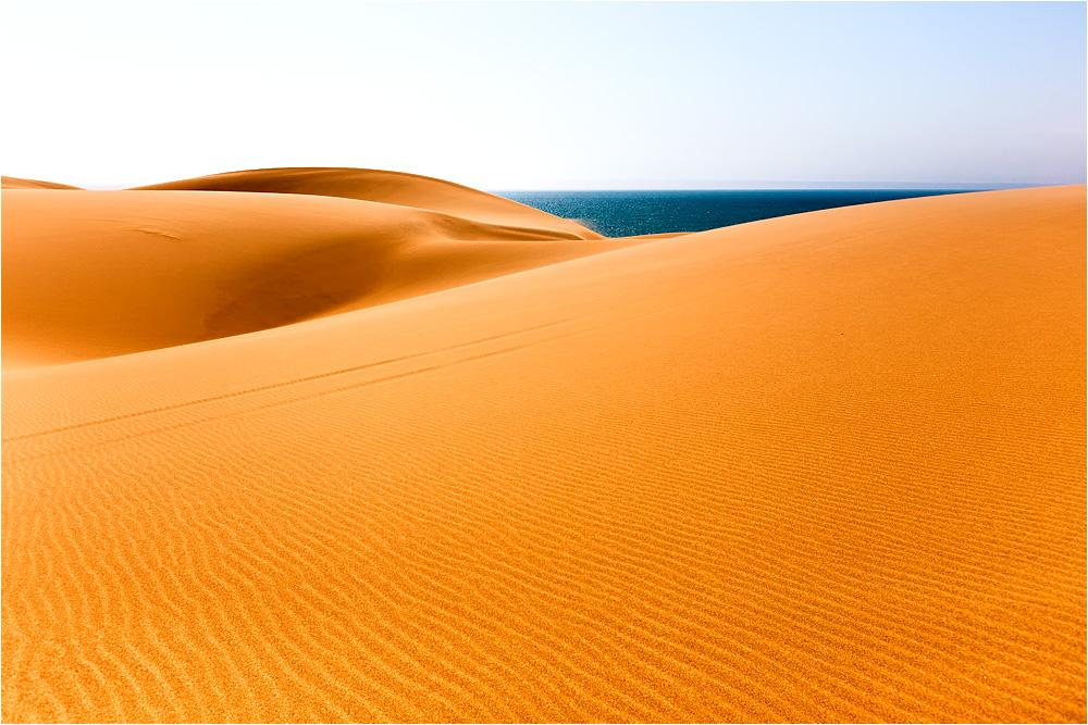Wo Meer und Wüste aufeinander treffen