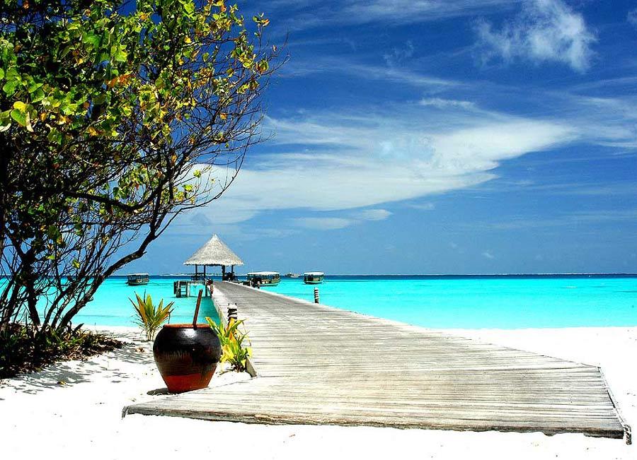 Wo sonst sollte ein Inselmann Urlaub machen ;-)