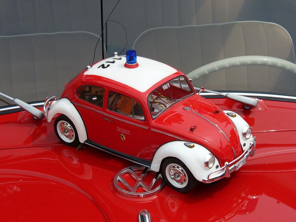 Wo VW Käfer drauf steht, ist auch ein VW Käfer drunter