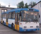 Woanders im Einsatz in Deutschland schon historisch- Obusse der Baureihe 14Tr