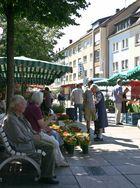 Wochenmarkt in Bruchsal