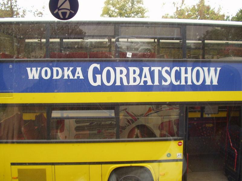 Wodka Gorbatschow...
