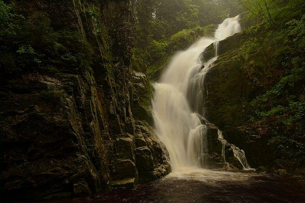 Wodospad Kamienczyk [Zackelfall]