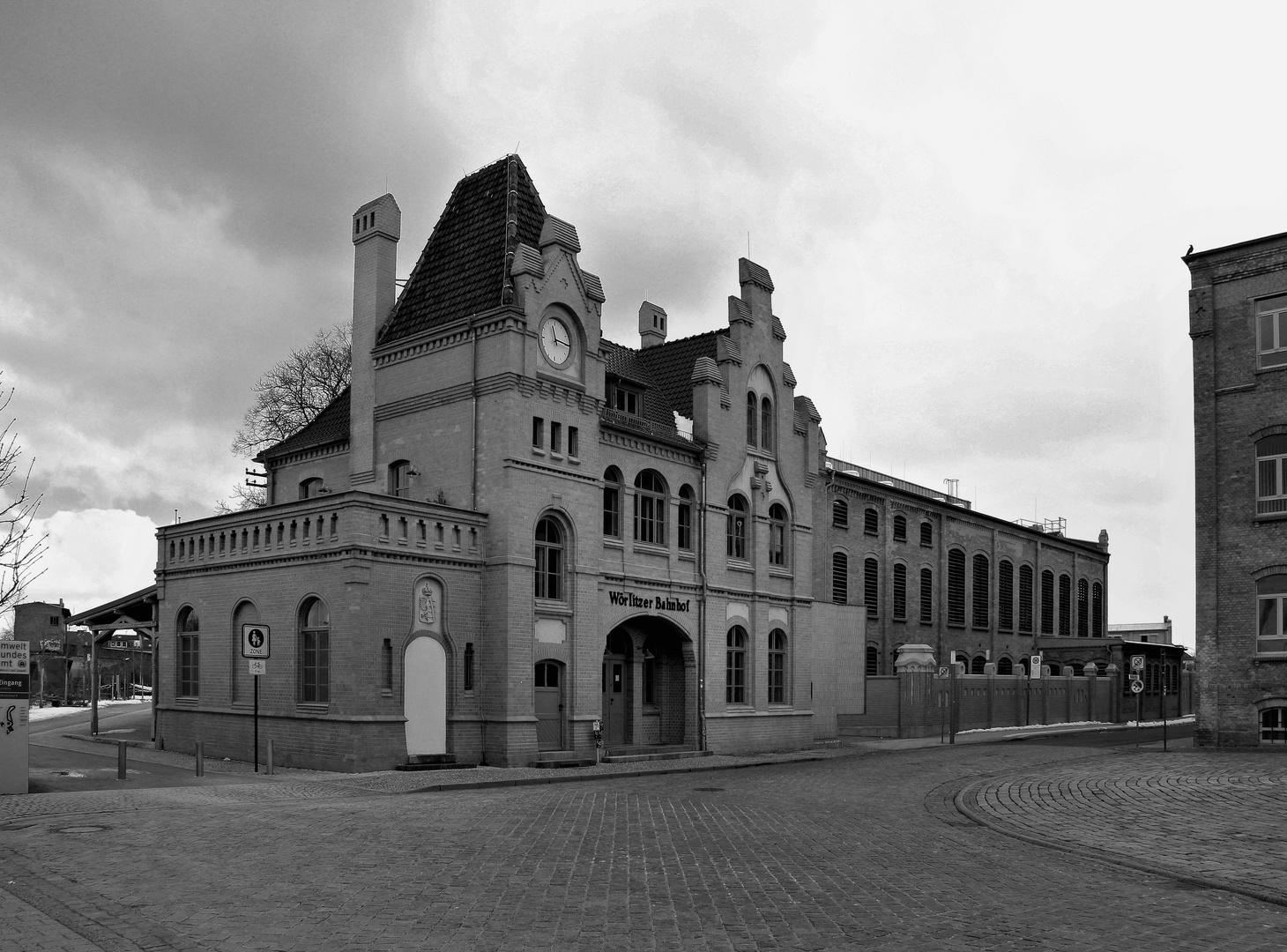 Wörlitzer Bahnhof