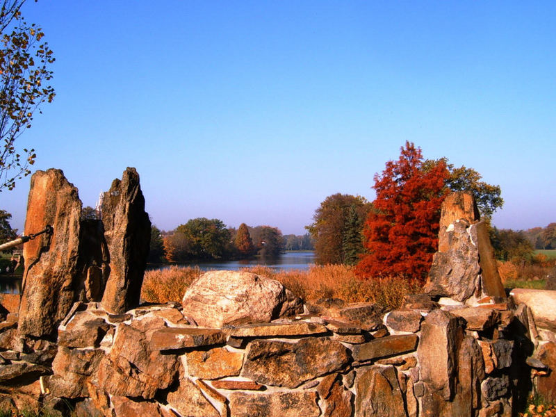Wörlitzer Park im Herbst