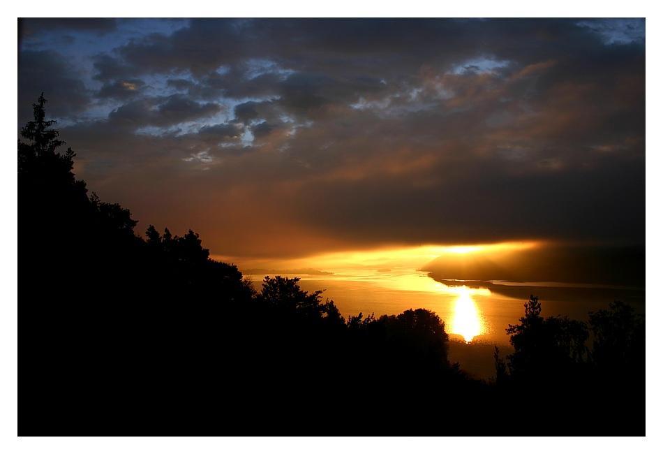 Wörther See - Sonnenaufgang .2