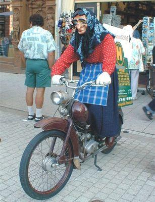 Wohin geht's mit dem motorisierten Radel ?