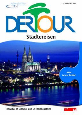 Wohin? Nach Köln natürlich! Katalog-Cover 2008/2009