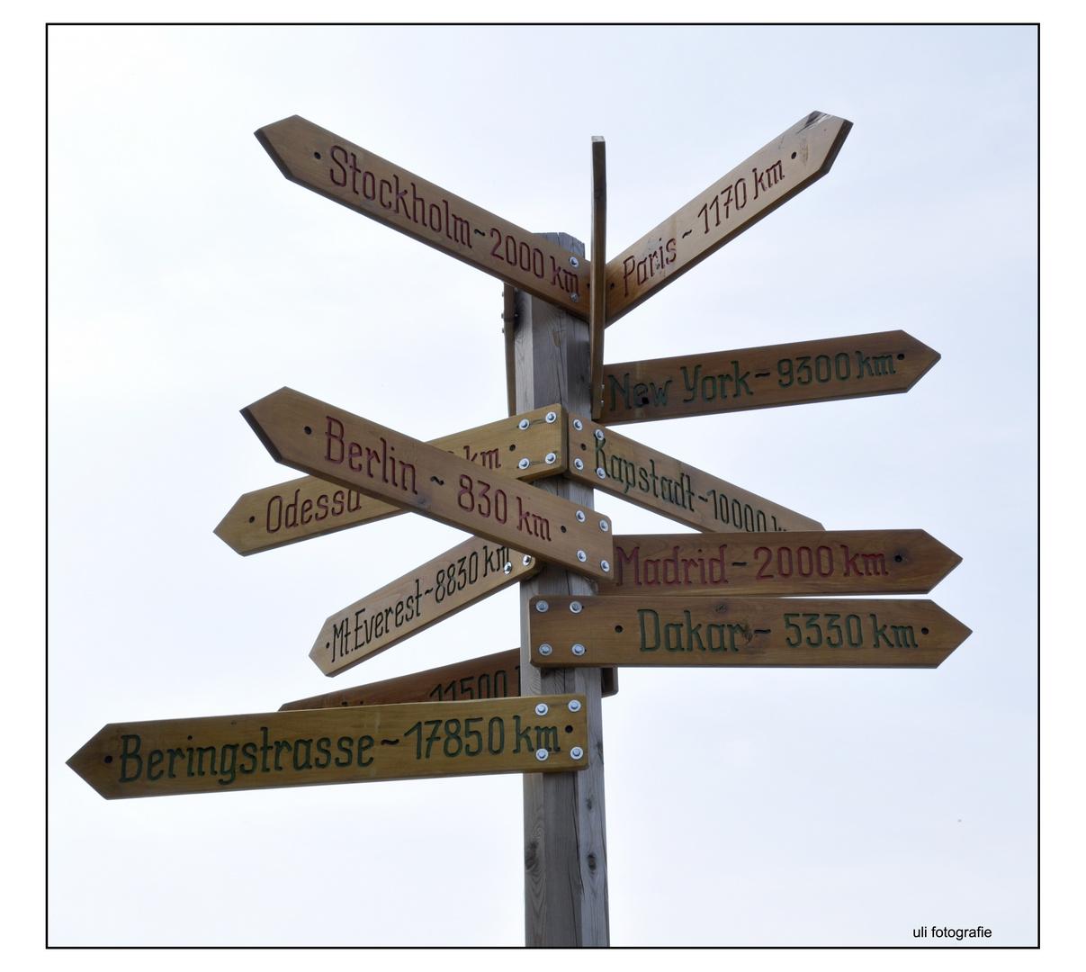 wohin soll ich kommen???