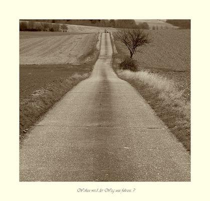 Wohin wird der Weg uns führen...?