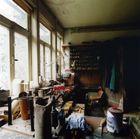 wohlig warme Werkstatt im Winter
