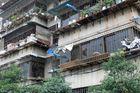 Wohnblock in Kunming - für uns doch ein eher ungewohnter Anblick