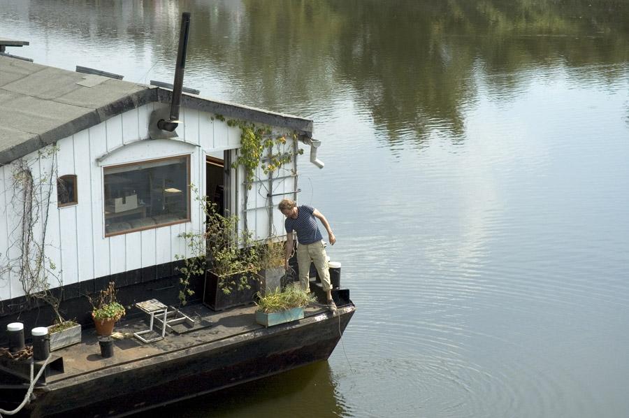 Wohnen auf der Elbe