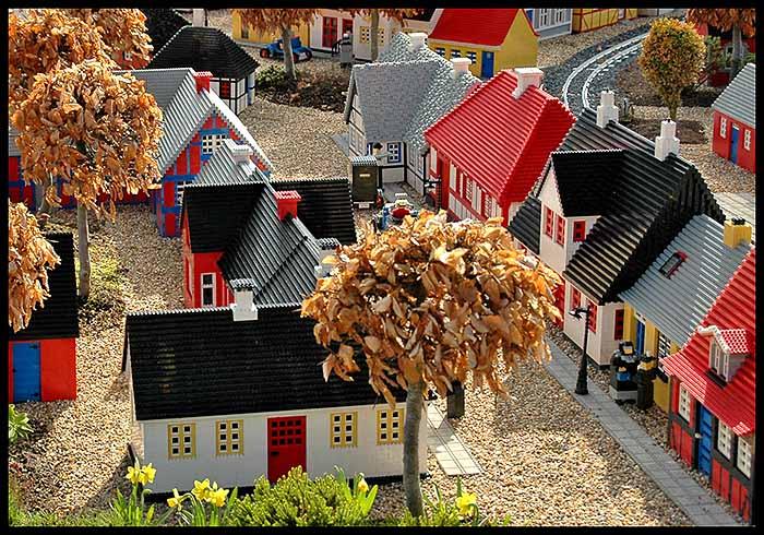 Wohnen im Legoland