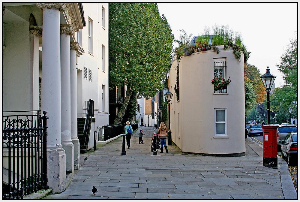 Wohnen in Kensington 9 - Eckhaus