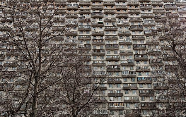 Wohnhaus in Moskau