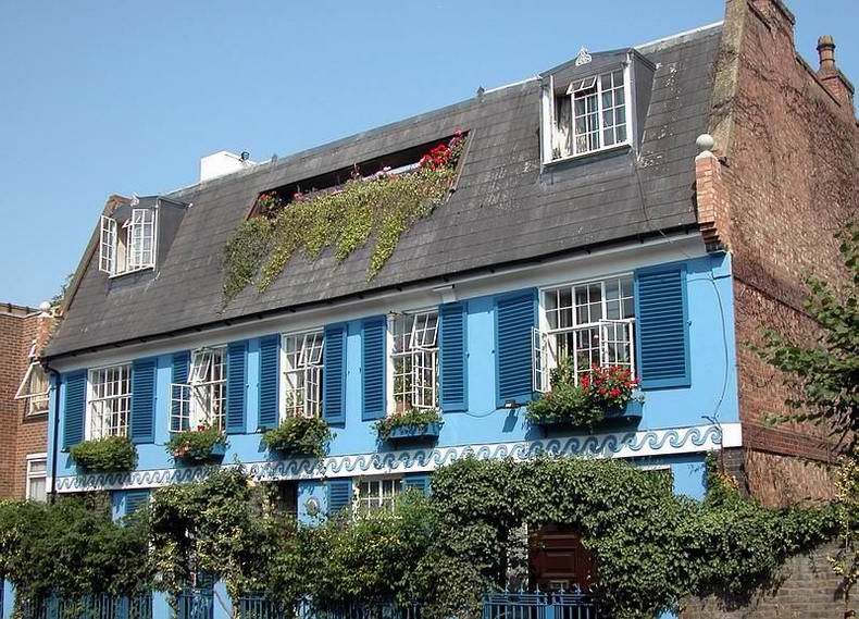Wohnhaus in Notting Hill