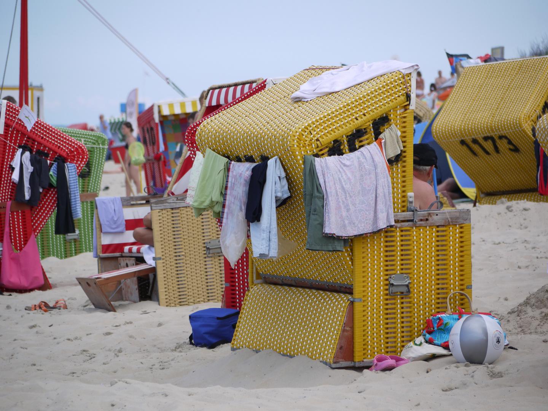 Wohnhaus Strandkorb