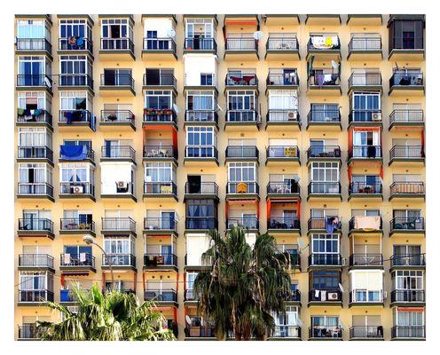 wohnhaus/hochhaus porto torres, spanien