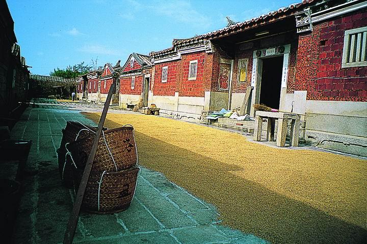 Wohnkomplex von Familie Cai