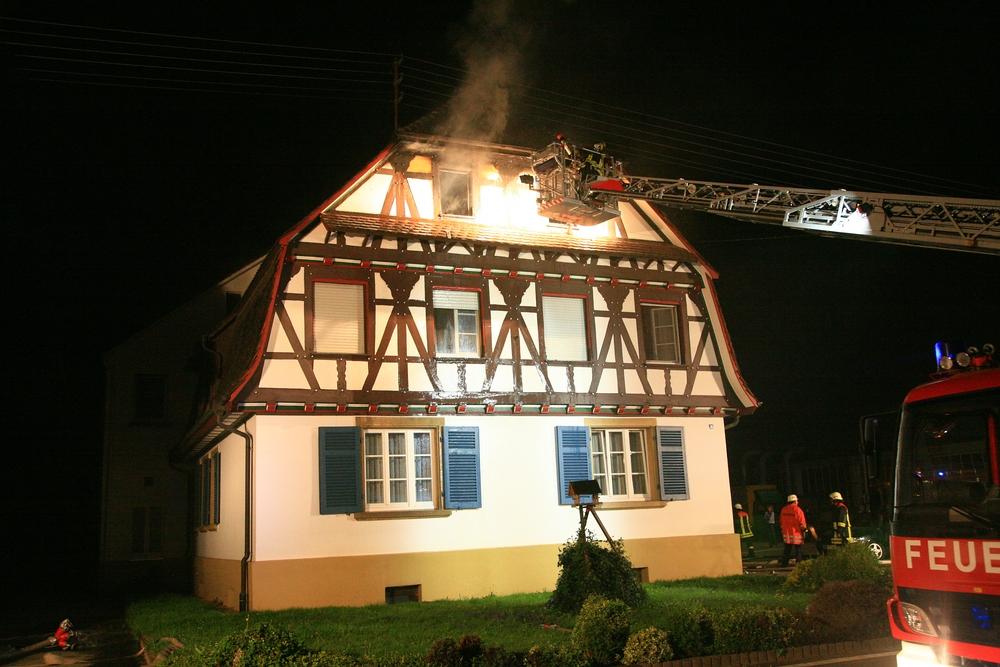 Wohnungsbrand in Vörstetten 2