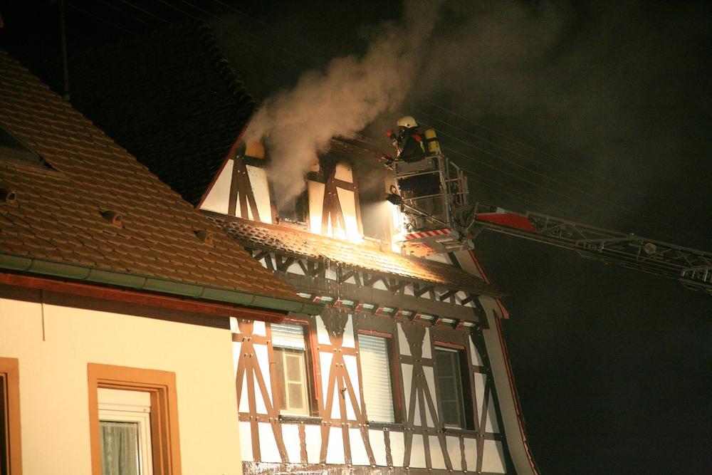 Wohnungsbrand in Vörstetten1