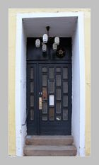 Wohnzimmerflair an der Haustür