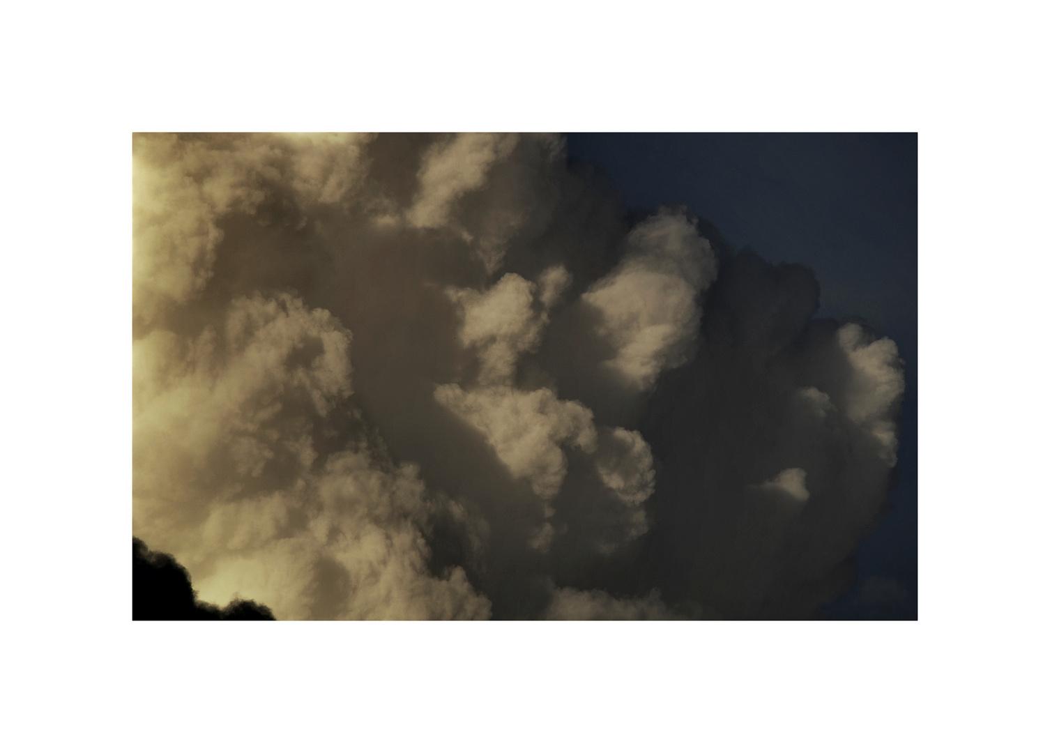 wolke im restlicht