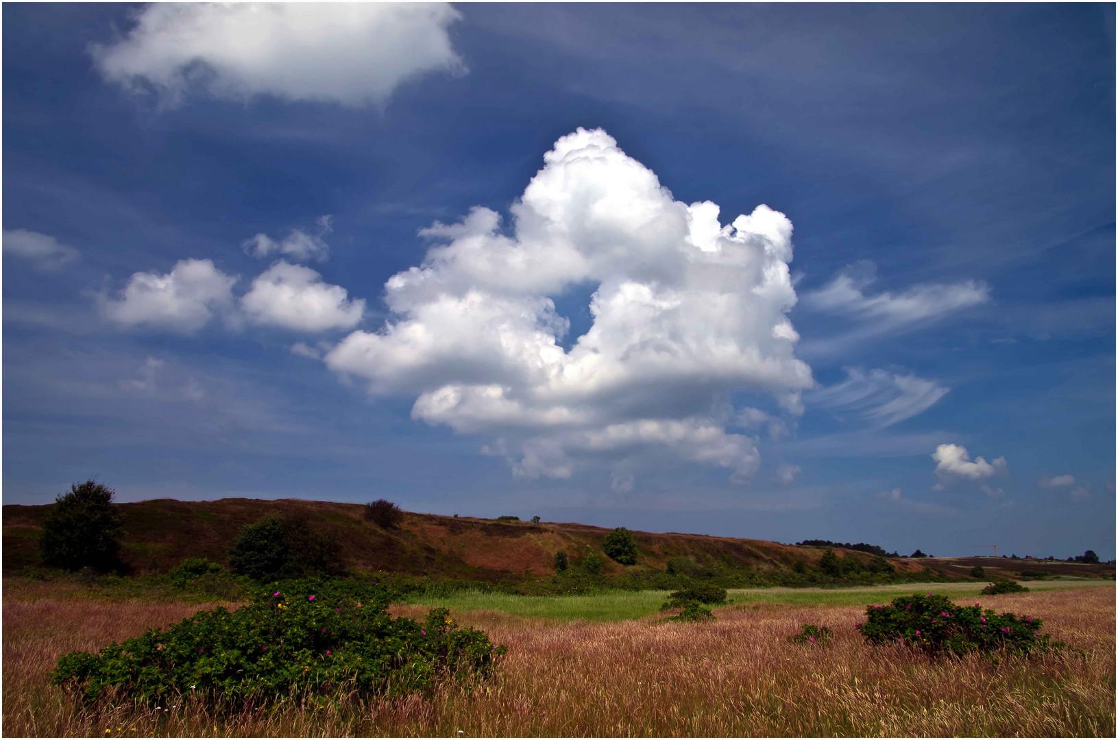 Wolke mit Durchblick