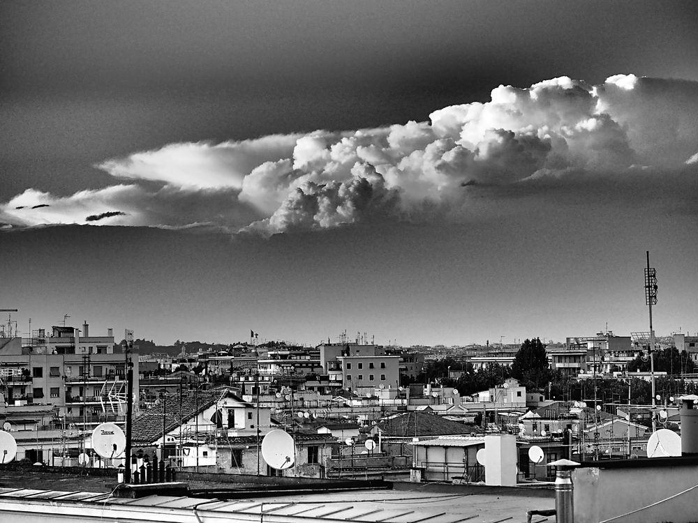Wolke über Rom