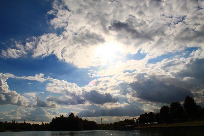 Wolken....
