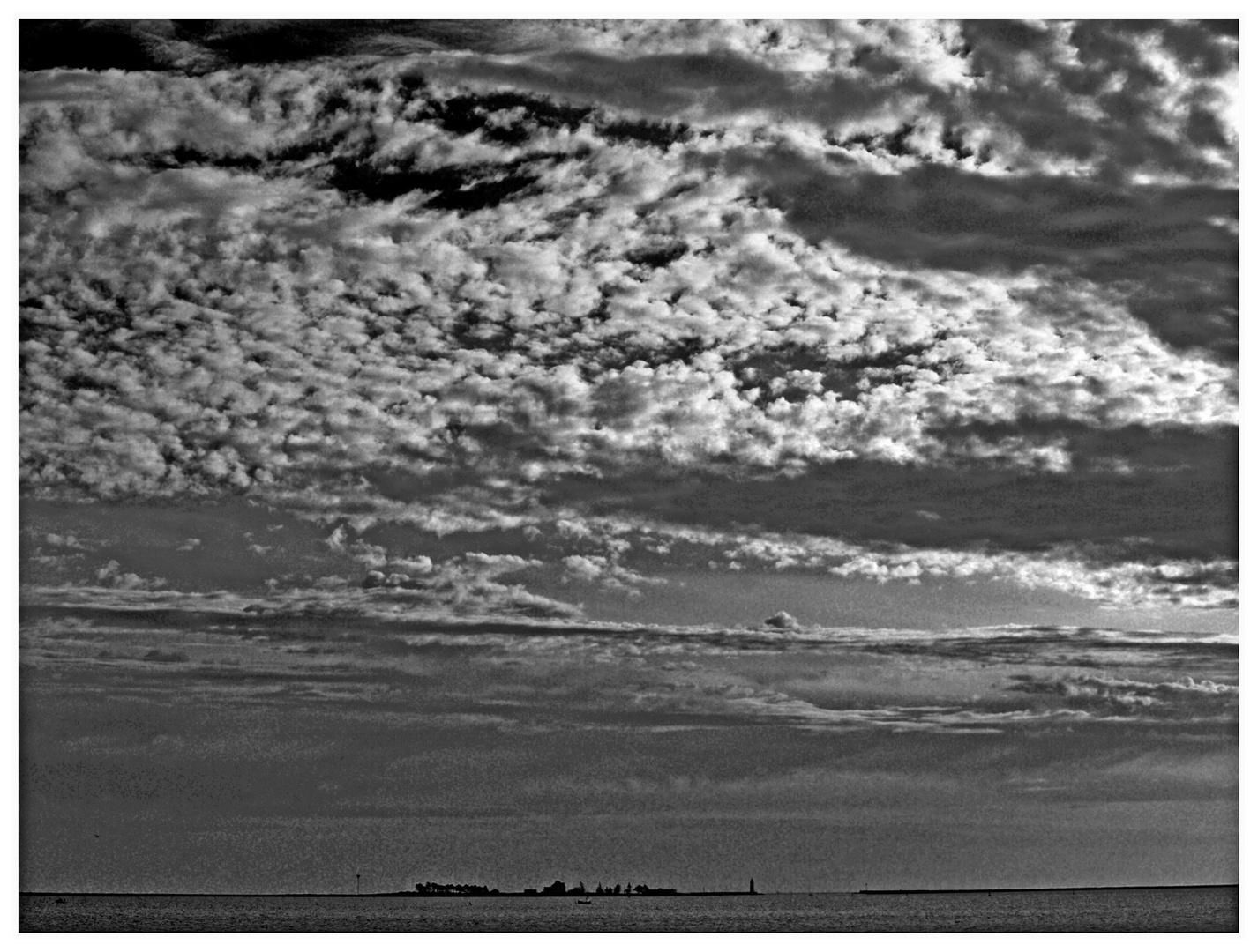 Wolken ..