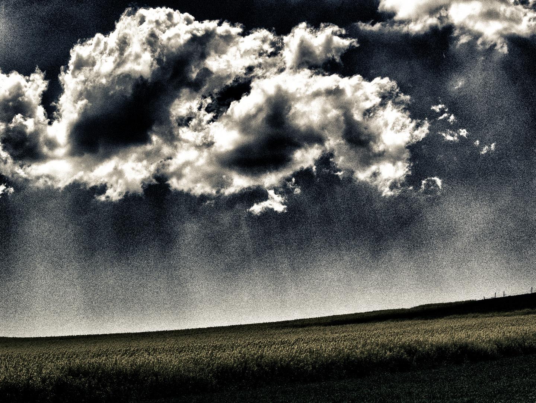wolken am himmel ...