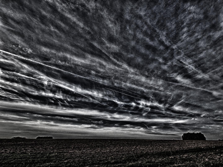 wolken am himmel ..