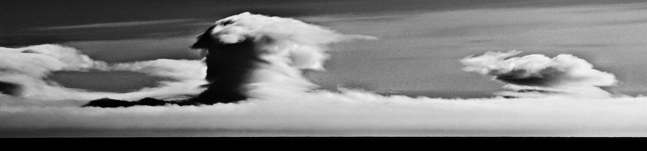 wolken am horizont ...