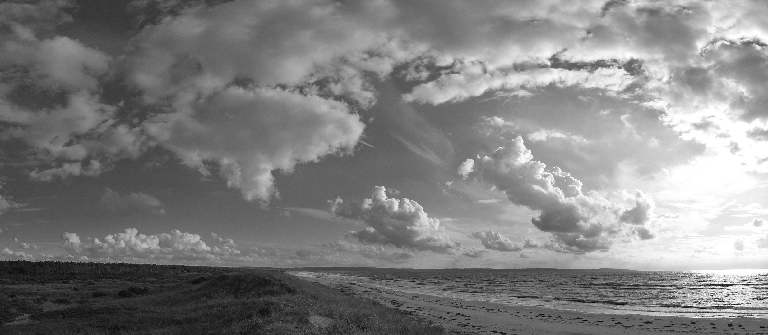 Wolken am Kattegat -Panorama-
