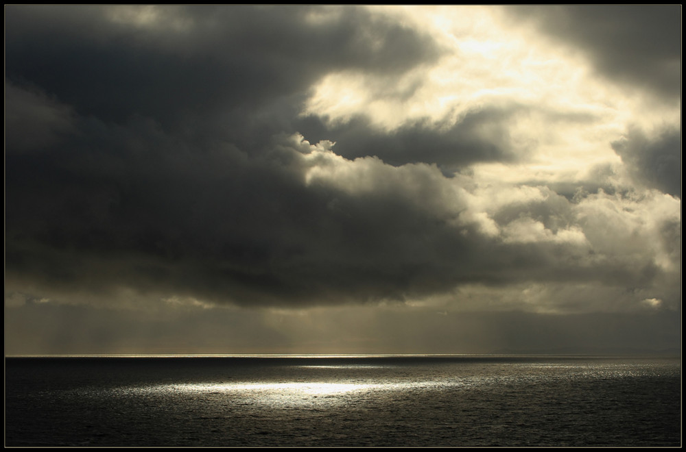 Wolken am Neist Point