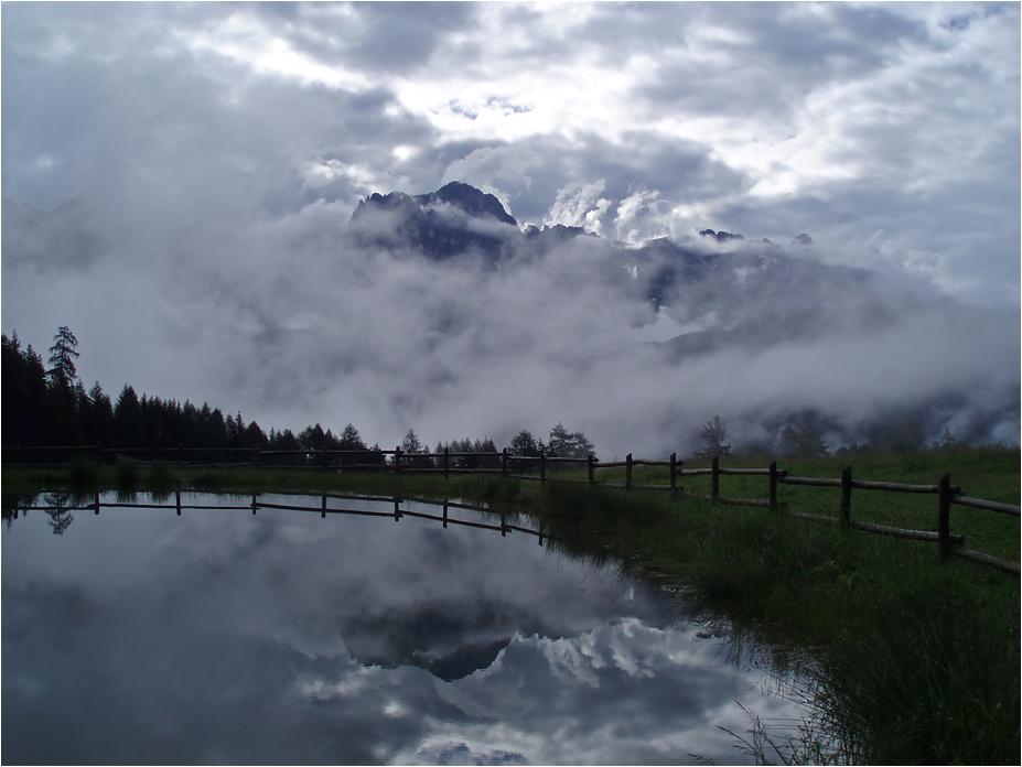 Wolken am Wuhner Weiher
