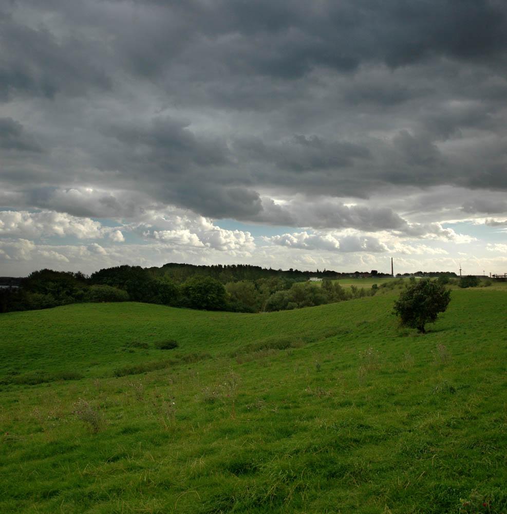 Wolken am Ziegelaussensee