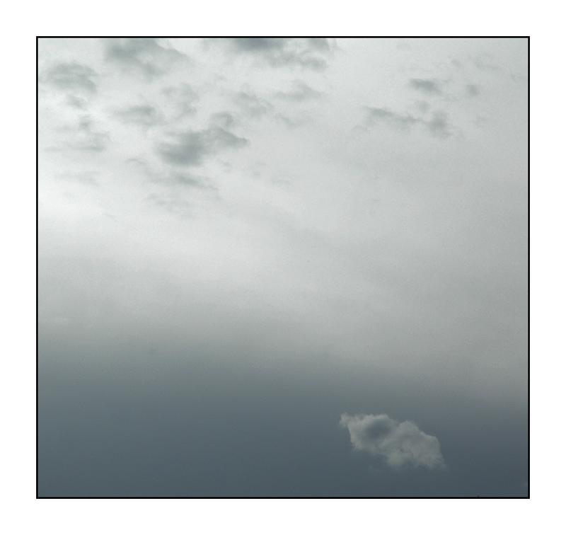 Wolken anstatt