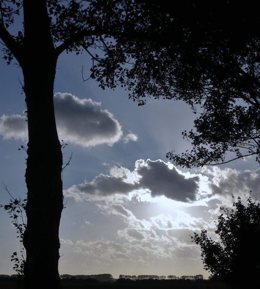 Wolken ...