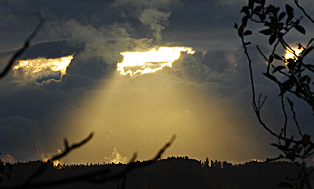 Wolken: das Original zum Schwarz-Weiß