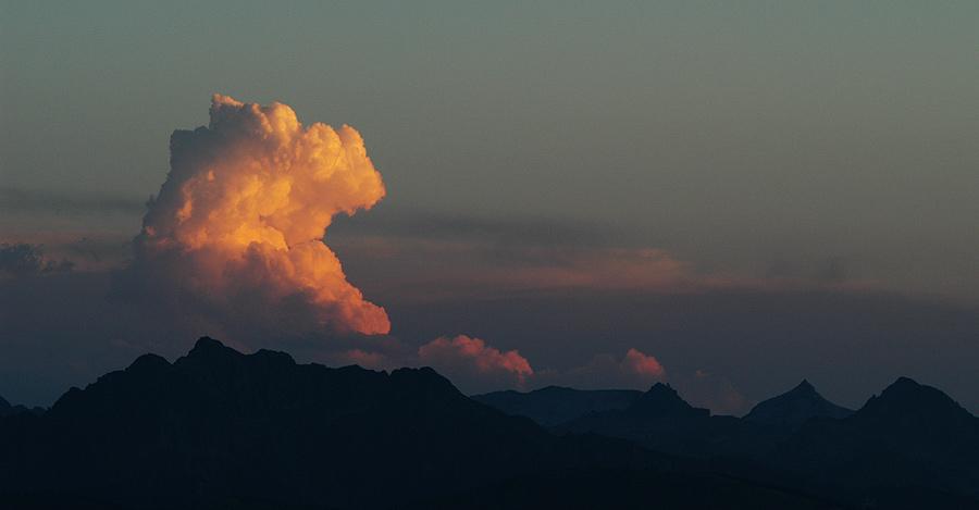 Wolken - Drache