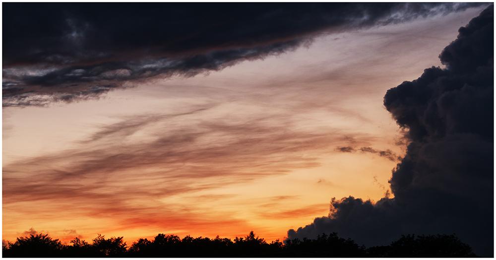 Wolken-Dramatik