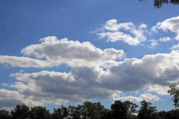 Wolken, eine schönheit für sich...