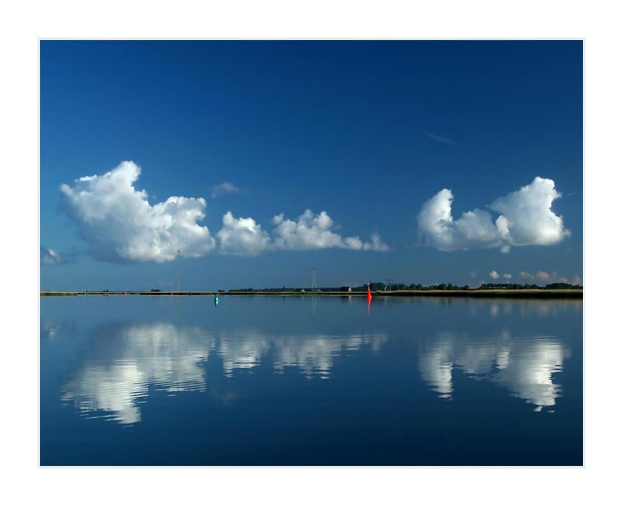 Wolken - Fluss