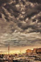 Wolken-Flut